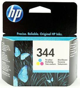 HP No.344 Tri-colour Inkjet Print Cartridge (14ml), up to 417 10 x 15 cm photos.