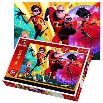 "Пазлы ""100"" - ""The Incredibles / Disney Incredibles 2"", код 42173"