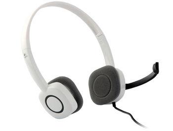 Сasti cu microfon Logitech H150 Cloud White Stereo Headset, 981-000350 (casti cu microfon/наушники с микрофоном)