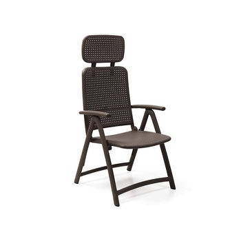 Кресло складное Nardi ACQUAMARINA CAFFE 40314.05.000 (Кресло складное для сада и террасы)
