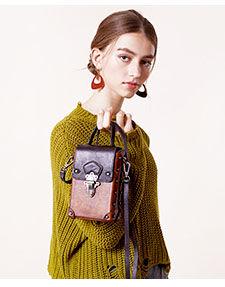 купить Женская сумка  из воловьей кожи, ретро  модная сумка в Кишинёве