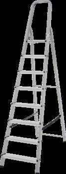 купить Стремянка с площадкой (8ст) 1130108 в Кишинёве