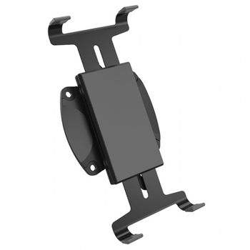 "Tablet Connector 8""-10"" - Vision Mounts VM-A69 Black, Connector on monitor arm to connect Tablet,  Plastic structure with rubber mat Free exended stretch."