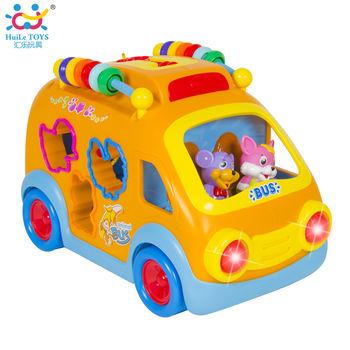 купить Huile Toys Веселый автобус сортер в Кишинёве