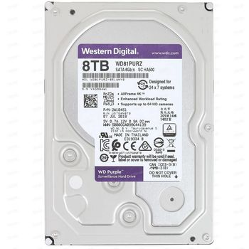 """3.5"""" HDD 8.0TB  Western Digital WD82PURZ Caviar® Purple™, IntelliPower, 256MB, SATAIII"""