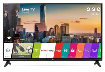 "купить ""43"""" LED TV LG 43LJ594V, Black (1920x1080 FHD, SMART TV, PMI 500Hz, DVB-T2/T/C/S2) (43"""", Black, IPS Full HD, PMI 500Hz, SMART TV (WebOS 3.5), 2 HDMI, 1 USB (foto, audio, video), DVB-T2/C/S2, OSD Language: ENG, RU, RO, Speakers 2x5W, 8Kg, VESA 200x200 )"" в Кишинёве"