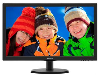"Monitor 21.5"" PHILIPS LED 223V5LHSB Black (5ms, 10M:1, 250cd, 1920x1080, VGA, HDMI)"