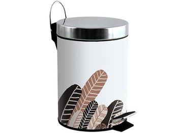 Cos pentru gunoi cu pedala 3l PLUMAS, inox