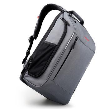 cumpără Rucsac-valiza TIGERNU T-B3265 cu gaura pentru casti, impermiabil, gri în Chișinău