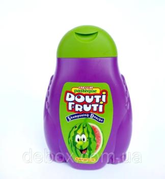 Gel de duș pentru copii + șampon Pasteque Douti Fruti (pepene verde)