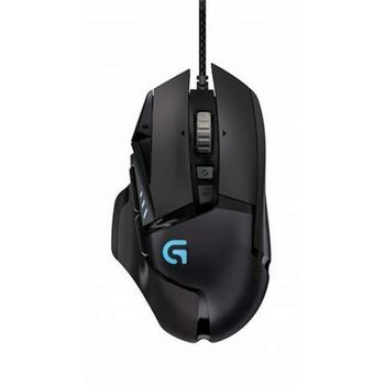 Logitech Gaming Mouse G502 HERO HIGH PERFORMANCE, 11 Programmable buttons, 16000 dpi, Onboard memory: 5 profiles, RGB