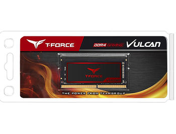 4GB SODIMM DDR4 Team T-Force Vulcan TLRD44G2666HC18F-S01 PC4-21300 2666MHz CL18, 1.2V