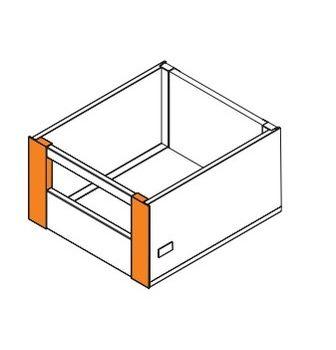 Conector alb pentru front sertar interior H-210 MB Square
