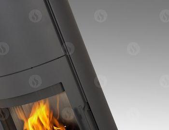 купить Каминная печь - ROMOTOP EVORA 03 AKUM с опцией аккумуляционный комплект (накопитель тепла) в Кишинёве