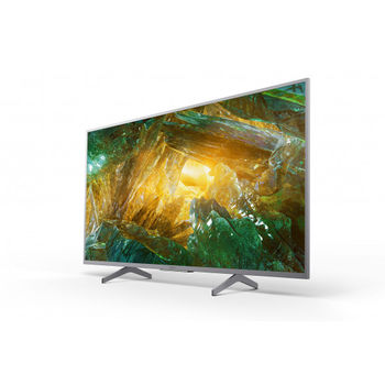 "43"" LED TV SONY KD43XH8077SAEP, Silver"