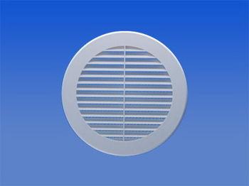 купить Решетка вентиляц.пласт. круглая Ø150mm VR150 Europlast в Кишинёве