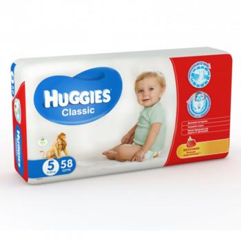 cumpără Huggies Scutece Classic Mega 5, 11-25 kg, 58 buc. în Chișinău