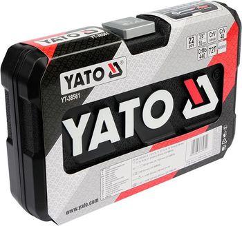 купить ТРУБНЫЙ КОМПЛЕКТ YATO 22 элем. - 3/8 38561 в Кишинёве