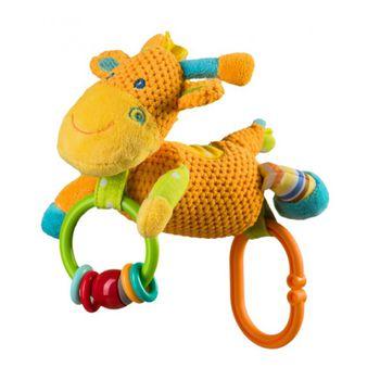 Подвеска с звоночком Жираф