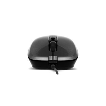 Mouse SVEN RX-520S, Optical Mouse, Antistress Silent 3200 dpi, USB, Gray (mouse/мышь)