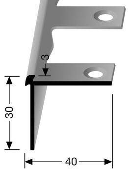 Угловой профиль KUBERIT 871 (для виниловых покрытий)
