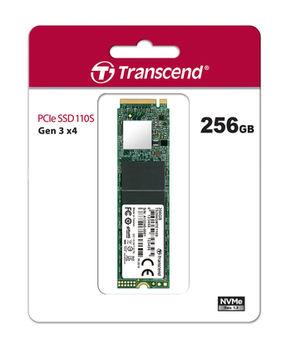 M.2 NVMe SSD 256GB Transcend 110S