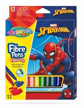 Набор фломастеры 12 цветов - Colorino Disney SpiderMan