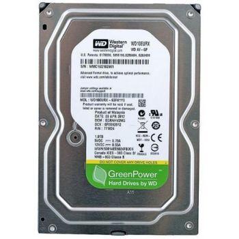 "3.5"" HDD 1.0TB  Western Digital WD10EURX  AV-GP™, IntelliPower, 64MB, SATAIII, FR"