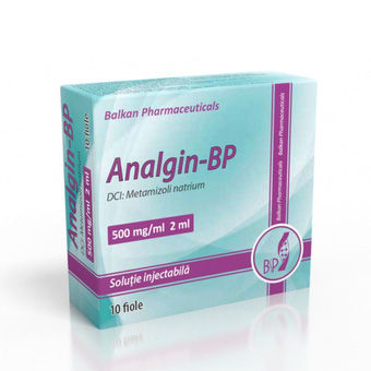 cumpără Analgin-BP 500mg/ml 2ml sol. inj. N10 în Chișinău