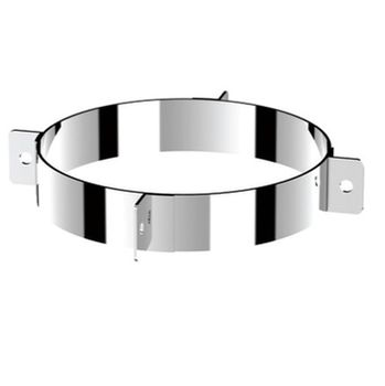 Ø130 Clemă de fixare cu 3 inele (inox 304)