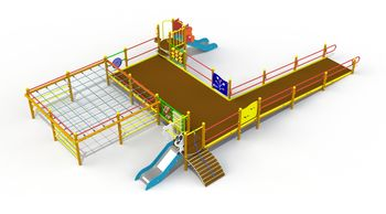 купить Игровой Комплекс для детей с ограниченными возможностями PTP 20L2 в Кишинёве