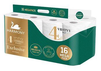 Туалетная бумага Harmony Exclusive Herbal 4 слоя 17м*16