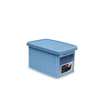 купить Коробка Elegance с боковой дверцей S 190x290x160 мм, синий в Кишинёве
