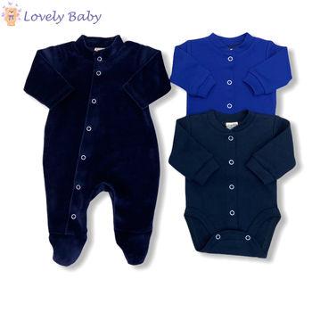 Набор для новорожденных синий