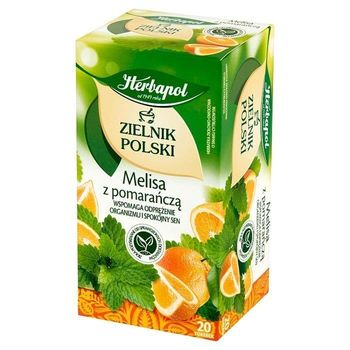 Чай травяной Polish Herbarium Lemon Balm with Orange, 20 шт