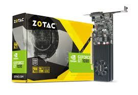 купить ZOTAC GeForce GT 1030 2GB DDR5, 64bit, 1468/6000Mhz, Single Fan, HDCP, DVI, HDMI, DisplayPort, Lite Pack в Кишинёве