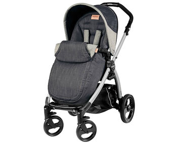 PEG-PEREGO BOOK PLUS COMPLETO & MODULAR DENIM