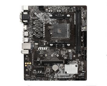 MSI B450M PRO-M2 MAX, Socket AM4, AMD B450, Dual 2xDDR4-4133, APU AMD graphics, VGA, DVI, HDMI, 1xPCIe X16, 4xSATA3, RAID, 1xM.2 slot, 2xPCIe X1, ALC887 HDA, GbE LAN, 6xUSB3.2 Gen1, mATX