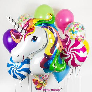 """cumpără Set de baloane """"Edinorog"""" în Chișinău"""