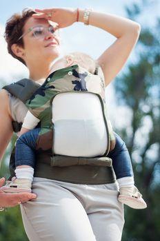 купить Эрго рюкзак NapBag by Bagy Military в Кишинёве