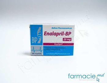 купить Enalapril-BP comp. 20 mg  N20 (Balkan) в Кишинёве