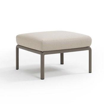 Пуф с подушкой c водоотталкивающей тканью Nardi KOMODO POUF TORTORA-TECH panama 40369.10.131