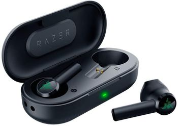 RAZER Hammerhead True Wireless Earbuds, Bluetooth 5.0 Earbuds, Microphone Omnidirectional, Touch interface, Battery: Earbuds 4 hrs, 12 hrs