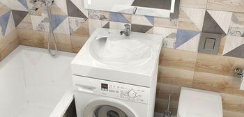 купить Раковины над стиральными машинами V060D1 в Кишинёве