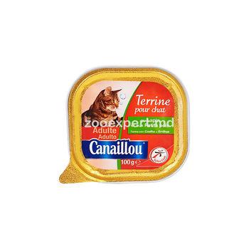 Canaillou паштет кролик 100 gr