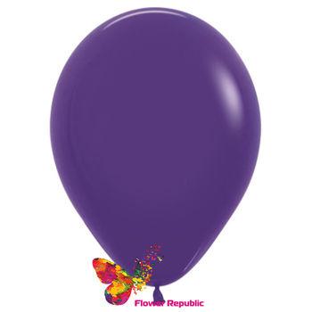 купить Латексный воздушный шар Фиолетовый-30 см в Кишинёве