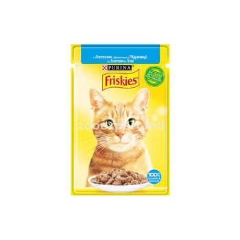 купить FRISKIES Adult лосось в подливе 100gr в Кишинёве
