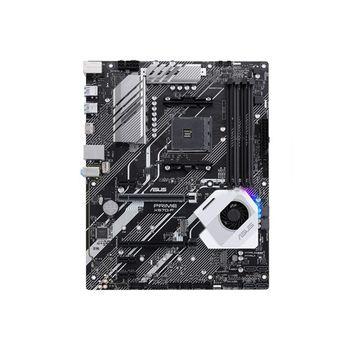 ASUS PRIME X570-P, Socket AM4, 12 Phases, AMD X570, Dual 4xDDR4-4400, APU AMD graphics, HDMI, 2xPCIeX16 4.0, 6xSATA3, 3xPCIeX1, RAID, 2xM.2 X4slot, S1220A 8Ch HDA+Optical,GbE LAN, 4xUSB3.2 Gen 2, 4xUSB3.2, Aura Sync RGB, ATX
