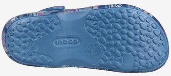 купить Тапочки COQUI 1353 Niagara blue tropical triangles в Кишинёве