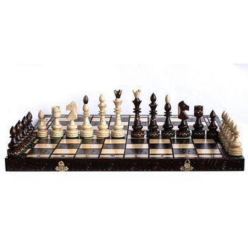 Шахматы деревянные 54х54 см Indian CH119 (5230)